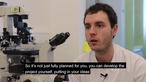 Thumbnail for entry MSc by Research Regenerative Medicine and Tissue Repair, Student Testimonial
