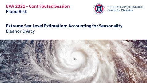 Thumbnail for entry Flood Risk: Eleanor D'Arcy