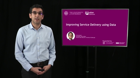 Thumbnail for entry Video 2: Improving service delivery using data