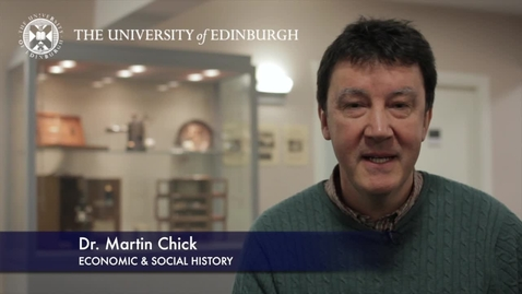 Thumbnail for entry Professor Martin Chick -Economic & Social History- Research in a Nutshell