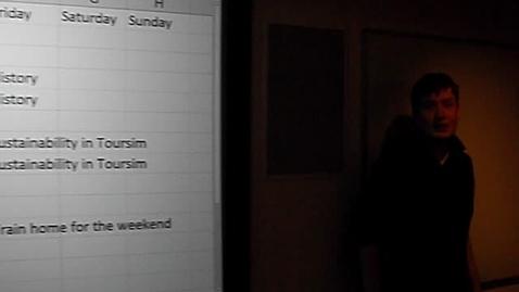 Thumbnail for entry Digital Volunteering - Scott - Timetable