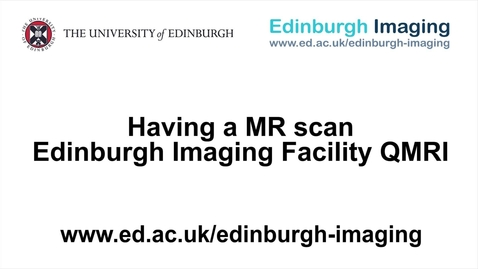 Thumbnail for entry Having a MR scan at the EIF QMRI