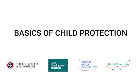 Thumbnail for entry Video 2 - Basics of Child Protection