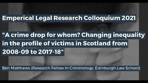 Thumbnail for entry Edinburgh Legal Research Network Colloquium - Part 3
