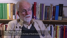 Thumbnail for entry Prof. Andrew Walls: What is World Christianity?
