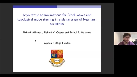Thumbnail for entry Waves in Complex Continua (Wavinar): Richard Wiltshaw (Imperial College London)