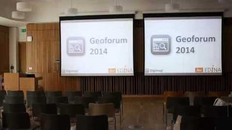 Thumbnail for entry Geoforum 2014 Timelapse