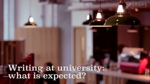 Thumbnail for entry Academic Writing: Tutors