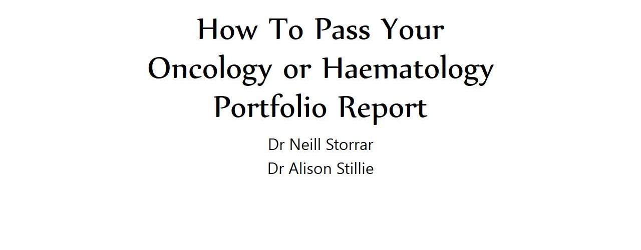 Passing Your Portfolio