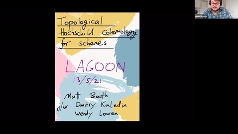 Thumbnail for entry LAGOON: Leicester Algebra and Geometry Open ONline: Matt Booth (Antwerp)