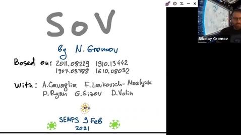 Thumbnail for entry South East Mathematical Physics Seminars:  Nikolay Gromov (King's College London)