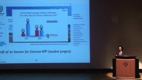 Thumbnail for entry Promoting diversity in the German Wikipedia - Ilona Buchem