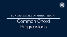 Thumbnail for entry Fundamentals of music theory - Common chord progressions