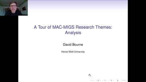 Thumbnail for entry Analysis Research theme in MAC-MIGS