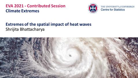 Thumbnail for entry Climate Extremes: Shrijita Bhattacharya