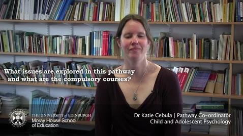 Thumbnail for entry Katie Cebula | Pathways