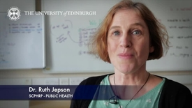 Thumbnail for entry Ruth Jepson -SCPHRP Public Health-Research In A Nutshell- MRC Institute of Genetic and Molecular Medicine-01/04/2014