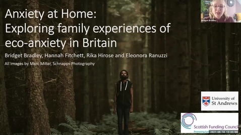 Thumbnail for entry Anxiety at Home: Exploring family experiences of eco-anxiety in Britain