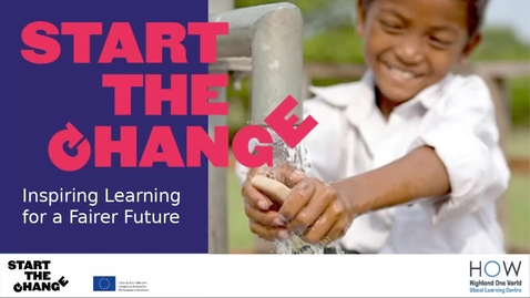 Thumbnail for entry Inspiring Learning for a Fairer Future Workshop 1