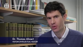 Thumbnail for entry Dr Thomas Ahnert - History/ Intellectual History- Research in a Nutshell