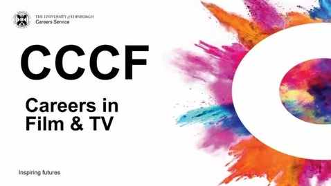 Thumbnail for entry CCCF 2019: Careers in Film and TV