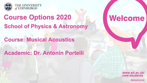 Thumbnail for entry Musical Acoustics