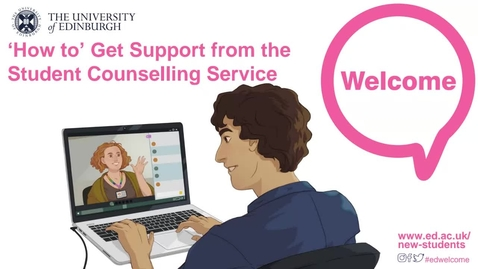 Thumbnail for entry (UG/PG) How-to Get Support from the Student Counselling Service