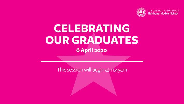 MBChB graduation celebration 2020