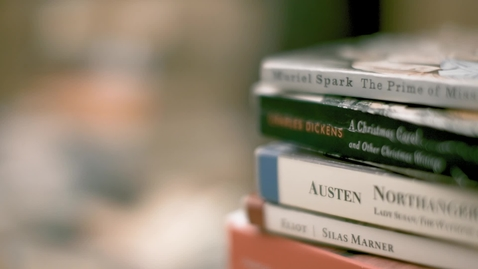 Thumbnail for entry Piles of paperback novels