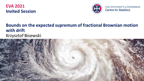 Thumbnail for entry Krzysztof Bisewski EVA Talk Preview
