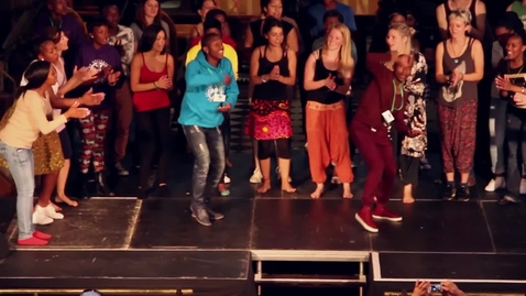 Thumbnail for entry Soweto Melodic Voices Join EUSA'S African Dance Society