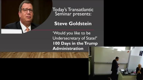 Thumbnail for entry 18 Jan 2019 — Steve Goldstein (US State Department [former])