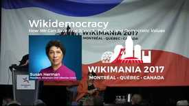 Thumbnail for entry Wikidemocracy: How We Can Save Free Speech, Privacy, and Democratic Values