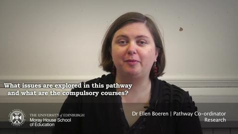 Thumbnail for entry Ellen Boeren | Pathways