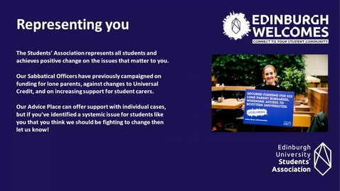 Thumbnail for entry How-To find students like you  for mature students, student parents and student carers