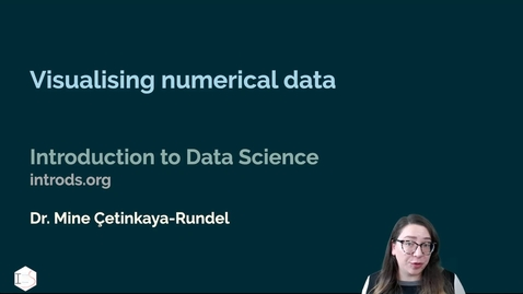 Thumbnail for entry IDS - Week 02 - 04 - Visualising numerical data