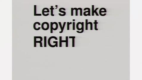 Thumbnail for entry Fixing copyright for teachers and students - Lisette Kalshoven and Alek Tarkowski OER17