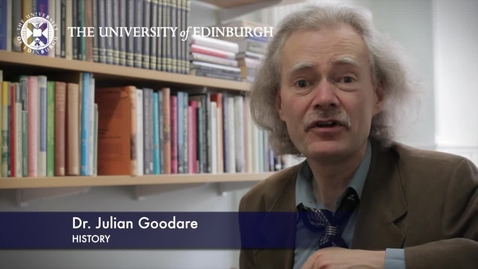 Thumbnail for entry Dr Julian Goodare -History- Research in a Nutshell