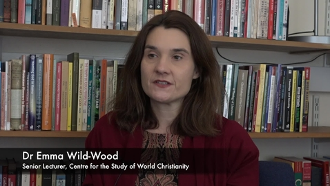 Thumbnail for entry Interview with Dr Emma Wild-Wood