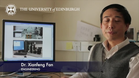 Thumbnail for entry Xianfeng Fan: Solve processing problems