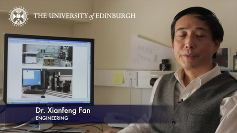 Thumbnail for entry Xainfeng Fan- Engineering- Research In A Nutshell - School of Engineering -28/06/2012