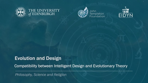 Thumbnail for entry 5. Evolution and Design - Religious Doctrines (Scharp)