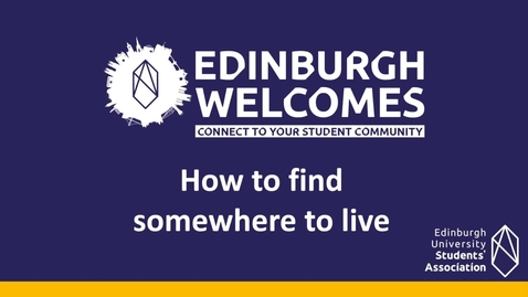 Thumbnail for entry (UG & PG) How-to find somewhere to live
