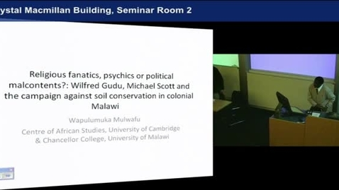 Thumbnail for entry Religious Fanatics, Psychics or Political Malcontents - Wapu Mulwafu