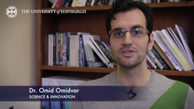 Thumbnail for entry Omid Omidvar - Science & Innovation- Research In A Nutshell - School of Social and Political Science-08/04/2014