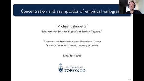 Thumbnail for entry Michael Lalancette EVA Talk Preview
