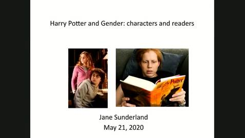 Thumbnail for entry Harry Potter and Gender - Characters and Readers