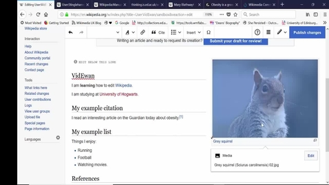 Thumbnail for entry How to edit Wikipedia in 30 mins - 2018 tutorial.