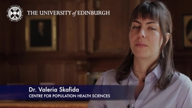 Thumbnail for entry Valeria Skafida -Centre for Population Health Sciences-Research In A Nutshell- MRC Institute of Genetic and Molecular Medicine-21/05/2012