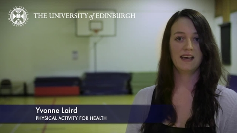 Thumbnail for entry Yvonne Laird- Physical Activity For Health -Research In A Nutshell-The Moray House School of Education-16/11/2012